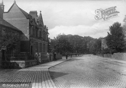 King Street, Manchester And County Bank 1914, Whalley