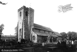 St Mary And All Saints Church 1895, Whalley