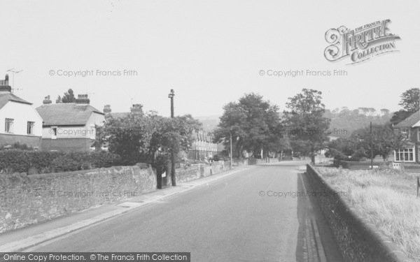 Photo of Whalley, Station Road c.1965