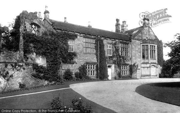 Photo of Whalley, The Abbey 1894