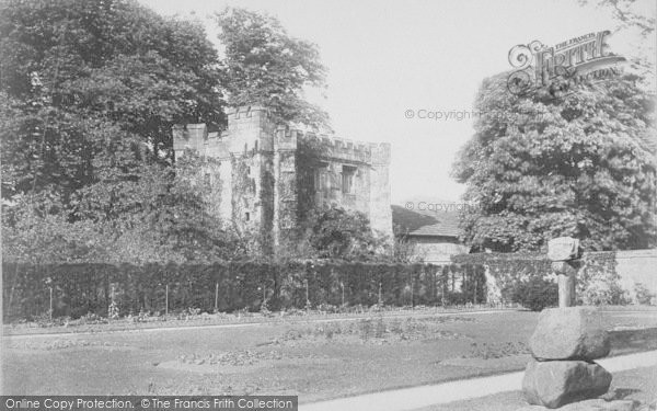 Photo of Whalley, The Abbey And Old Cross 1895