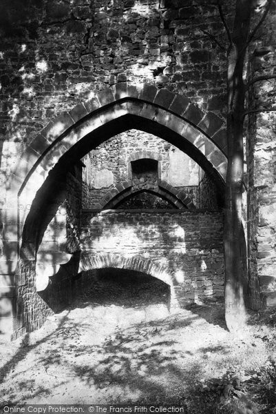 Photo of Whalley, The Abbey, Arches Over The Drain 1895