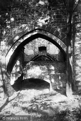 The Abbey, Arches Over The Drain 1895, Whalley