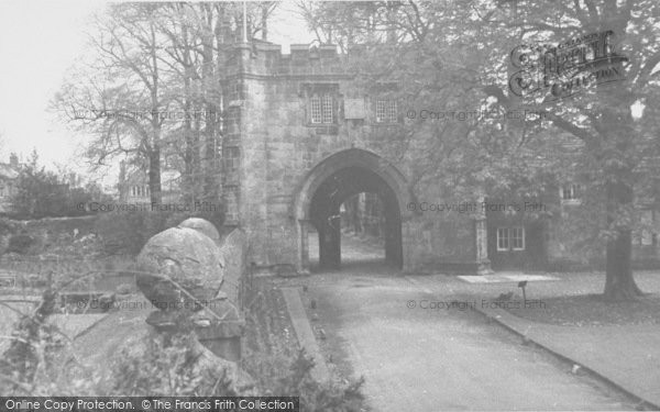 Photo of Whalley, The Abbey c.1960