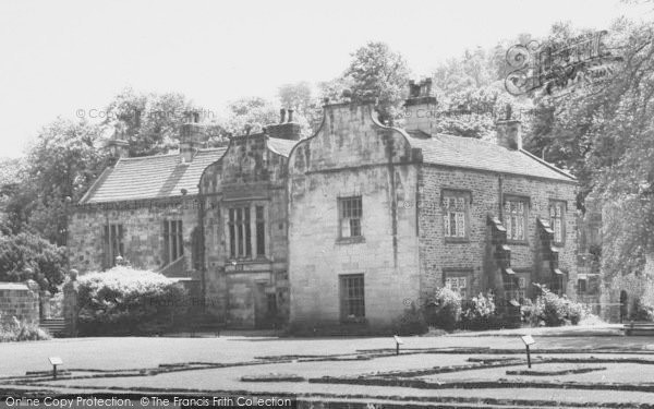 Photo of Whalley, The Abbey c.1965