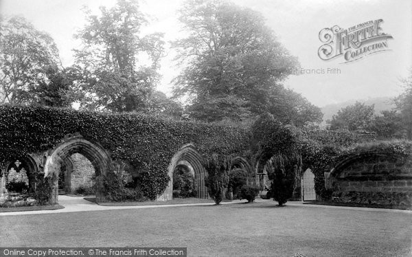 Photo of Whalley, The Abbey Cloisters 1894