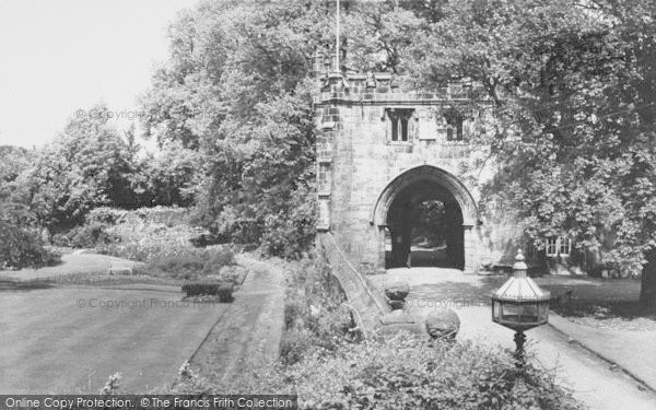 Photo of Whalley, The Abbey, East Gate c.1965