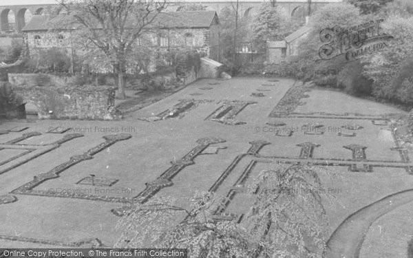 Photo of Whalley, The Abbey Foundations c.1960