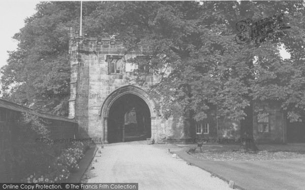 Photo of Whalley, The Abbey, North East Gateway c.1965