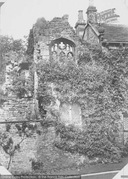 Photo of Whalley, The Abbey, Oratory Ruins 1894