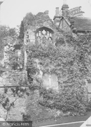 Whalley, The Abbey, Oratory Ruins 1894