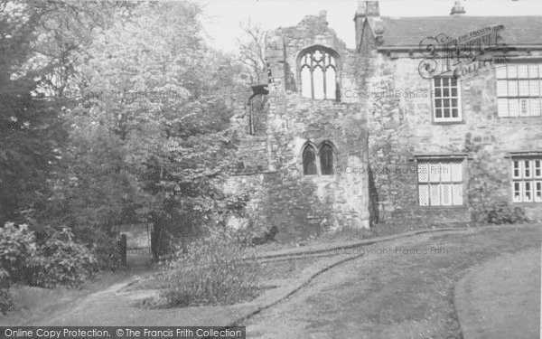 Photo of Whalley, The Abbey, Oratory Ruins c.1960