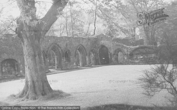 Photo of Whalley, The Abbey Ruins c.1960