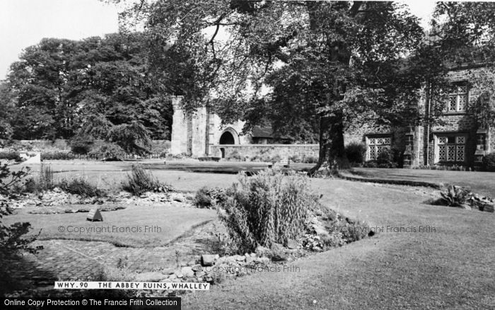 Photo of Whalley, The Abbey Ruins c.1965