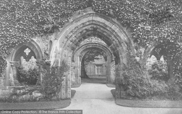 Photo of Whalley, The Abbey, Scriptorium 1894
