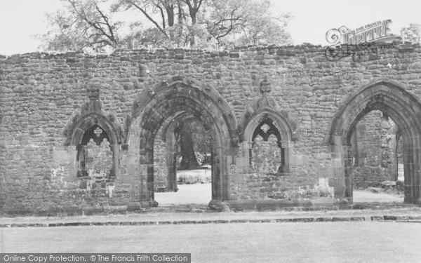 Photo of Whalley, The Abbey, Scriptorium c.1965