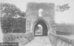 Whalley, The Abbey, West Gate 1894