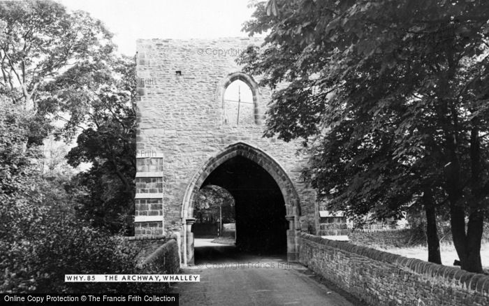 Photo of Whalley, The Archway c.1965