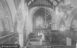 Whalley, The Church Interior 1894