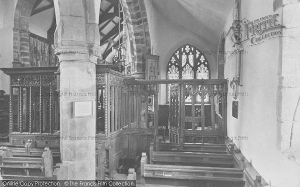 Photo of Whalley, The Church, Lady Chapel 1914