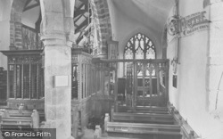Whalley, The Church, Lady Chapel 1914