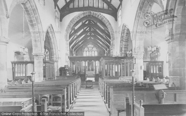 Photo of Whalley, The Church, Nave East 1914
