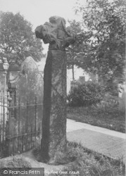 Whalley, The Churchyard, Runic Cross 1899