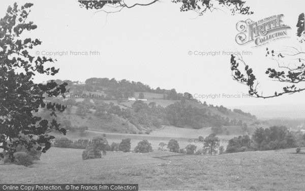 Photo of Whalley, The Nab c.1955