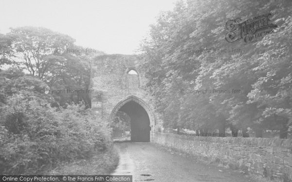 Photo of Whalley, The Old Gateway c.1960