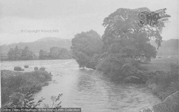 Photo of Whalley, The River Calder 1921