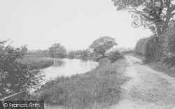 Whalley, The River Calder And Lovers' Lane 1906