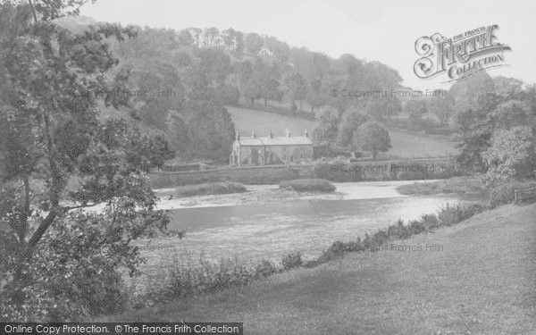 Photo of Whalley, The River Calder And Nab Wood 1921