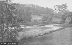Whalley, The River Calder And Nab Wood 1921