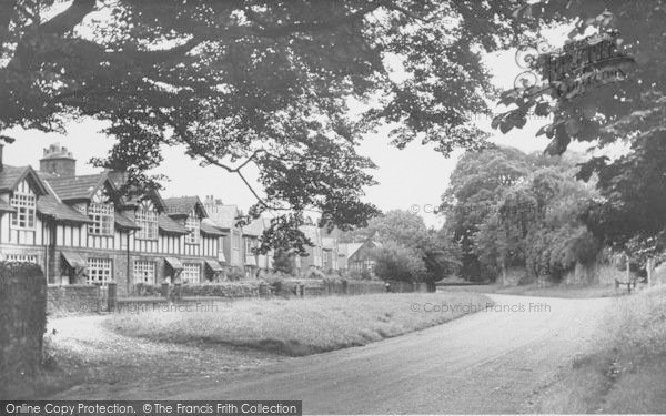 Photo of Whalley, The Sands Cottages c.1955