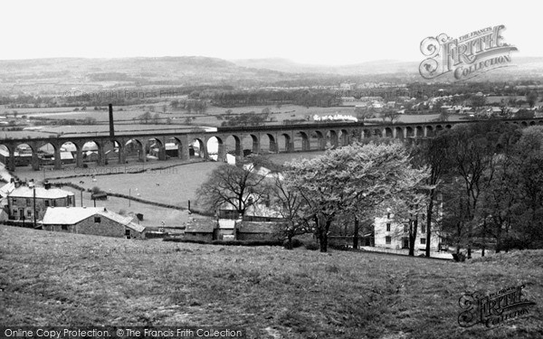 Photo of Whalley, The Viaduct c.1955