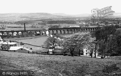 The Viaduct c.1955, Whalley