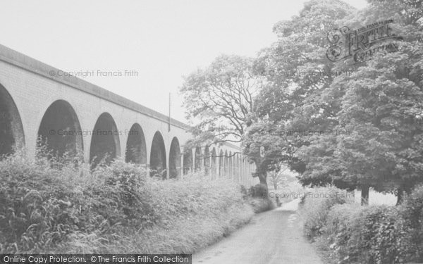 Photo of Whalley, The Viaduct c.1960