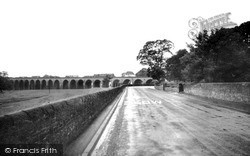 The Viaduct c.1960, Whalley