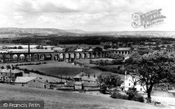 The Viaduct c.1965, Whalley