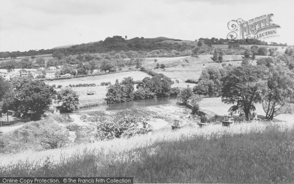 Photo of Whalley, The Weir c.1965