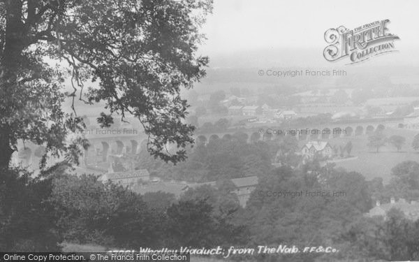 Photo of Whalley, Viaduct, From The Nab 1901