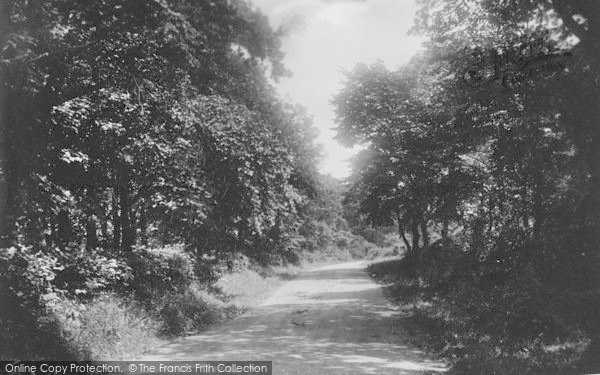 Photo of Whalley, Wiswell Lane 1906