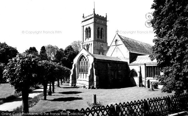 Photo of Whaplode, St Mary's Church c.1955