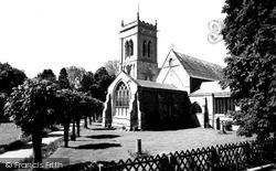 St Mary's Church c.1955, Whaplode
