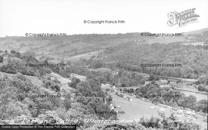 Photo of Whatstandwell, Derwent Valley c.1955