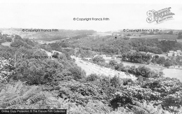 Photo of Whatstandwell, General View c.1960