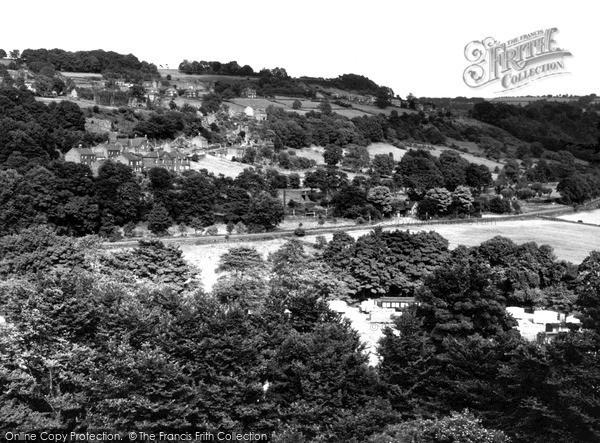 Photo of Whatstandwell, Hillside c.1960