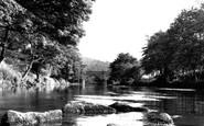 Whatstandwell, River Derwent c1960