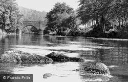 River Derwent c.1960, Whatstandwell