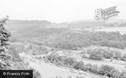 The Bridge And Camping Ground c.1955, Whatstandwell